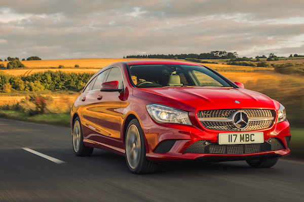 Mercedes CLA UK January 2016