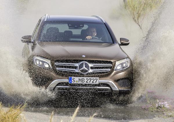 Mercedes GLC Germany November 2015