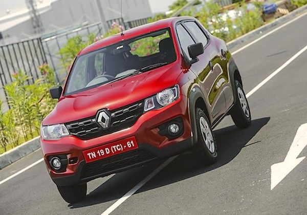 Renault Kwid India September 2015. Picture courtesy zigwheels.com