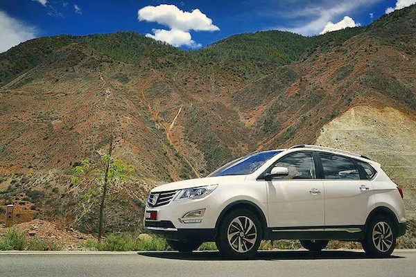Baojun 560 China October 2015. Picture courtesy shuansong.me