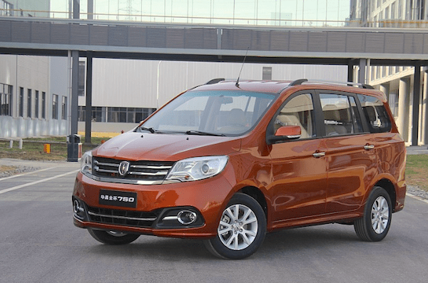 Jinbei 750 China September 2015. Picture courtesy xcar.com.cn