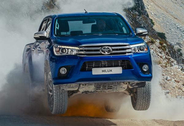 Toyota Hilux New Caledonia November 2015