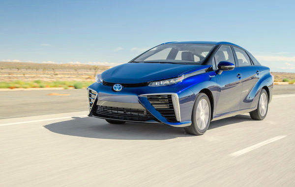 Toyota Mirai USA October 2015. Picture courtesy motortrend.com