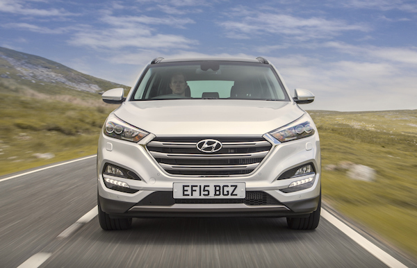 Hyundai Tucson Northern Ireland April 2016