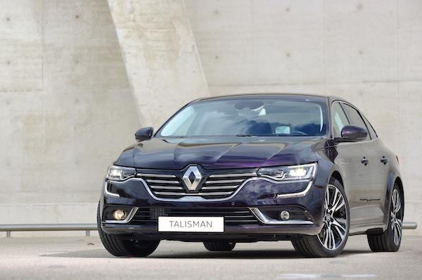 Renault Talisman France November 2015