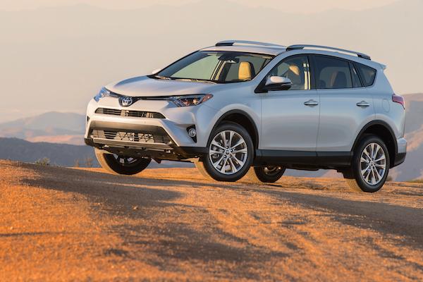 Toyota RAV4 USA November 2015