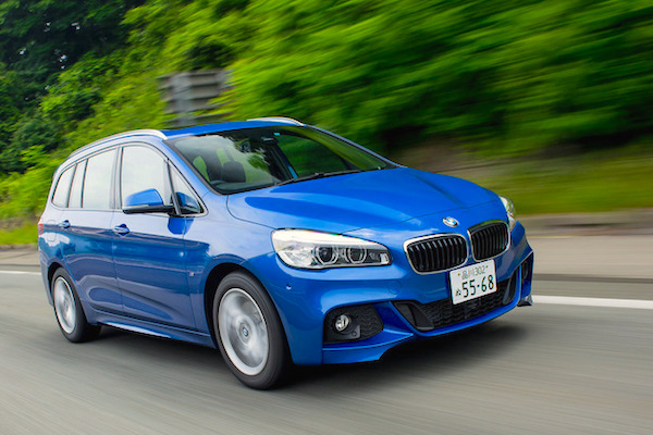 BMW 2 Series Gran Tourer Japan December 2015. Picture courtesy response.jp