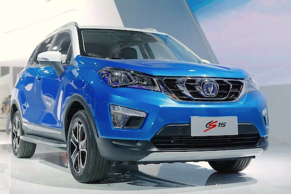 ChangAn CS15 China December 2015