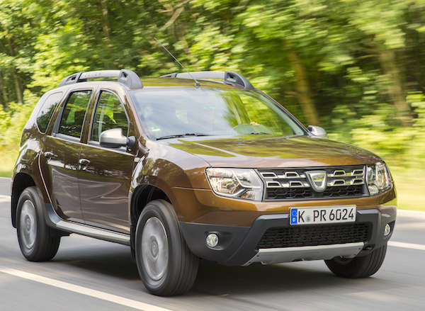 Dacia Duster New Caledonia March 2016