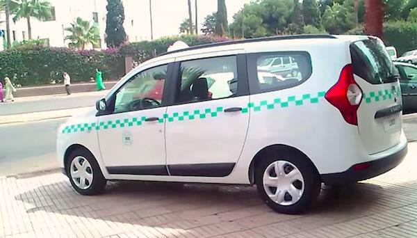 Dacia Lodgy Morocco 2015. Picture courtesy wandaloo.com