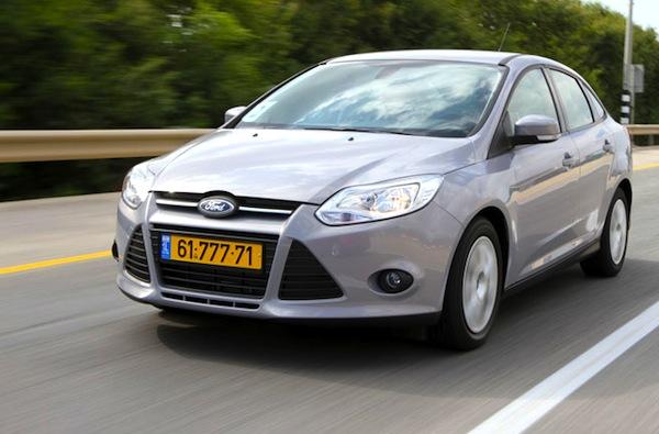 Ford Focus Israel 2015