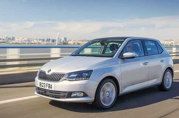 Skoda Fabia Germany June 2016. Picture carkeys.co.uk