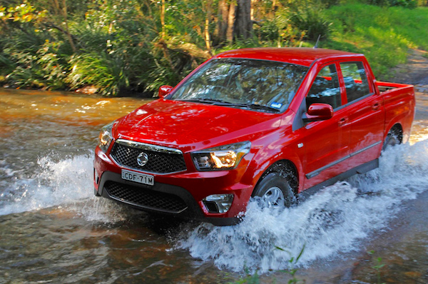 SsangYong Actyon Sports Chile 2015