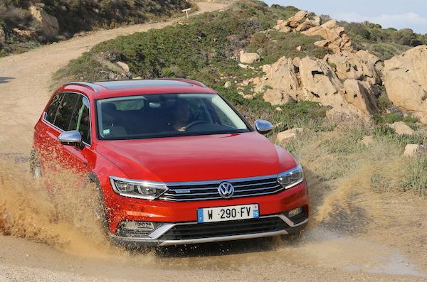 VW Passat Europe 2015. Picture courtesy largus.fr