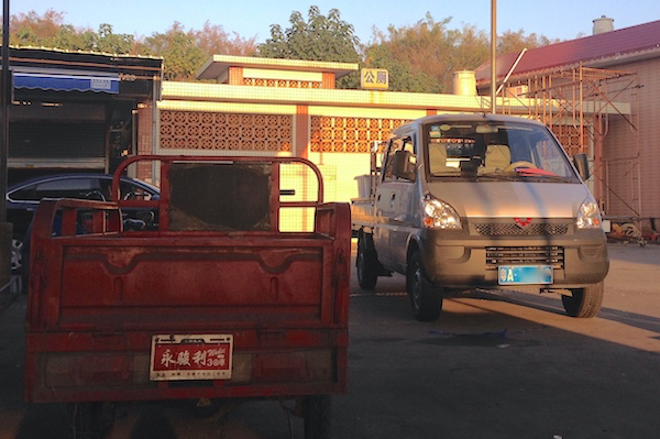 Wuling Mini Truck Guangzhou November 2015