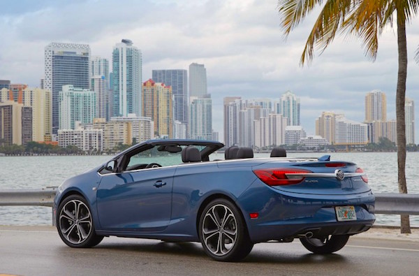 Buick Cascada USA January 2016. Picture courtesy caranddriver.com