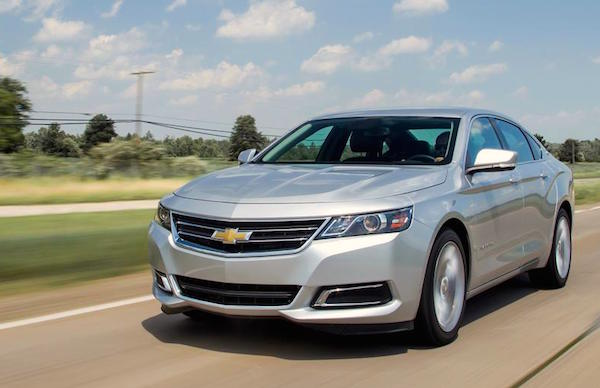 Chevrolet Impala USA January 2016. Picture courtesy caranddriver.com