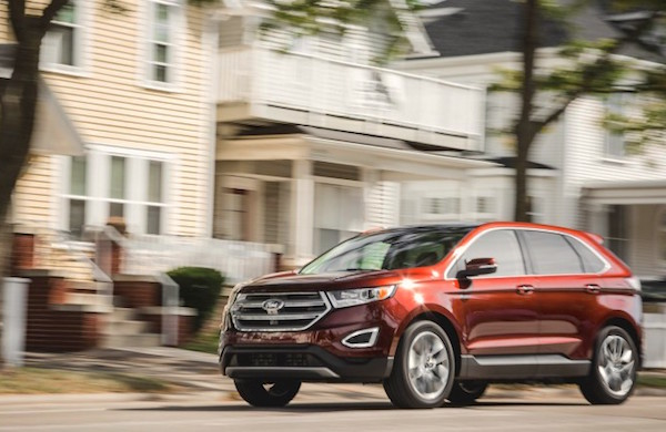 Ford Edge Canada February 2016. Picture courtesy caranddriver.com