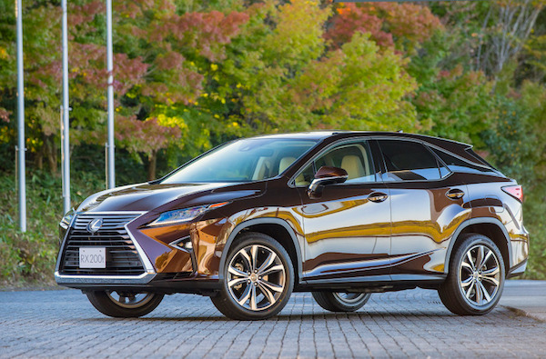 Lexus RX Japan January 2016. Picture courtesy response.jp