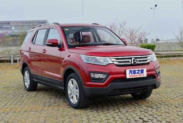 ChangAn CX70 China February 2016