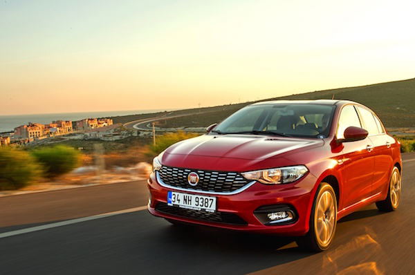 Fiat Egea Turkey February 2016