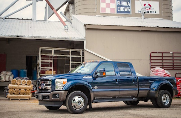Ford F-350 Super-Duty USA 2015. Picture courtesy caranddriver.com