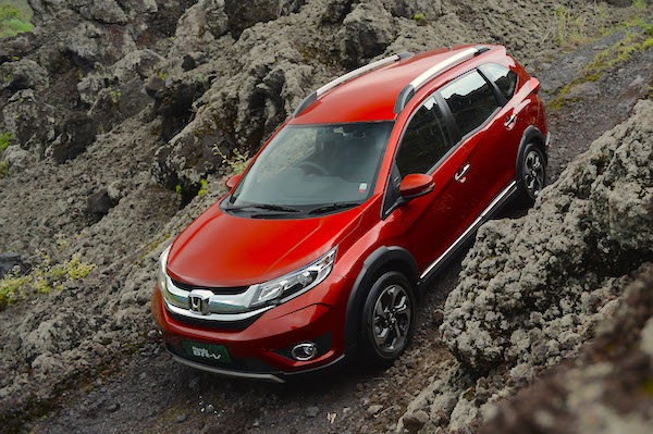 Honda BR-V Indonesia January 2016. Picture courtesy surabayanews.co.id