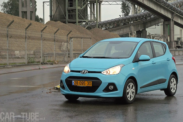Hyundai i10 Israel February 2016. Picture courtesy cartube.co.il