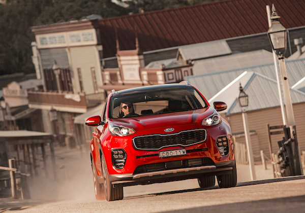 Kia Sportage UK February 2016