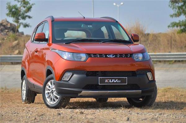 Mahindra KUV100 India February 2016. Picture courtesy autocarindia.com