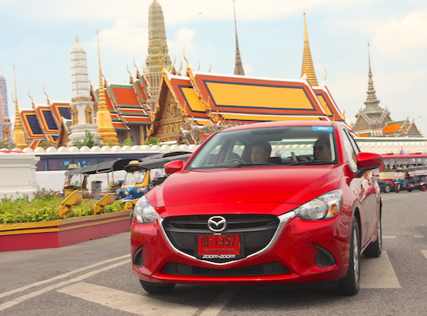 Mazda2 Thailand January 2016. Picture courtesy grandprix.co.th