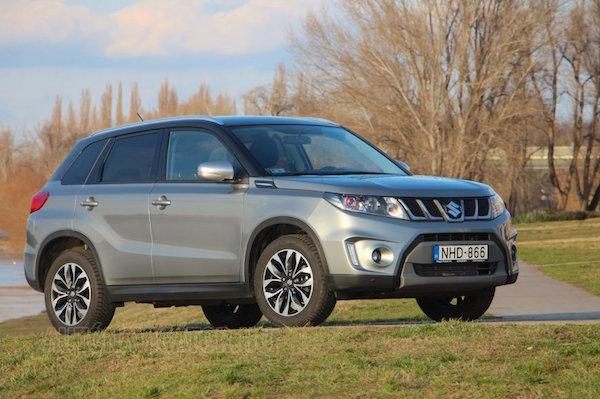 Suzuki Vitara Hungary February 2016. Picture courtesy autonavigator.hu