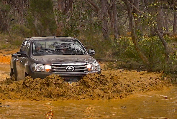 Toyota Hilux Australia February 2016. Picture courtesy caradvice.com.au