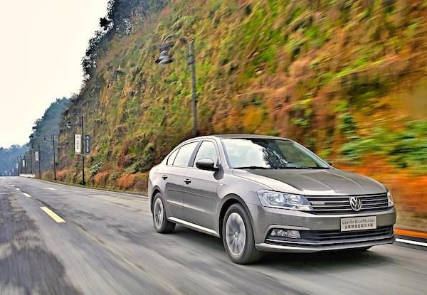 VW Lavida China February 2016. Picture courtesy auto.fengniao.com