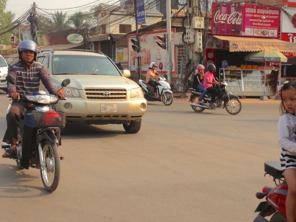 7. Toyota Highlander Siem Reap