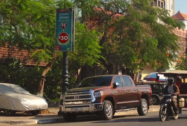 7. Toyota Tundra Phnom Penh