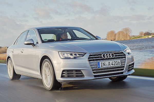 Audi A4 Europe April 2016. Picture courtesy autobild.de