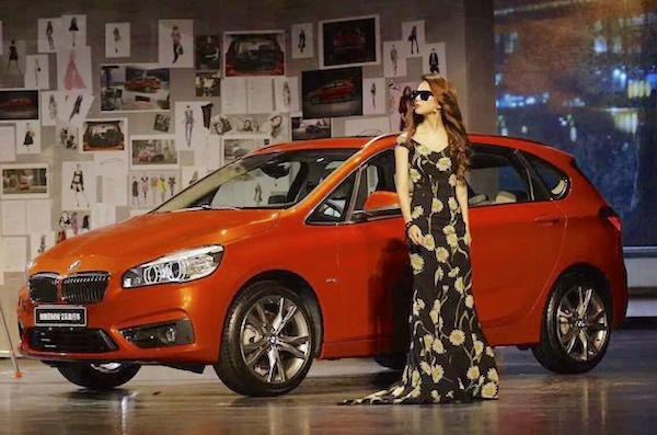 BMW 2 Series Active Tourer. Picture courtesy auto.qq.com