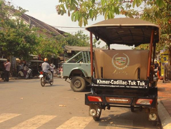 Cadillac Tuk Tuk Siem Reap