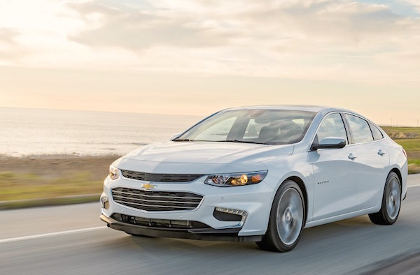 Chevrolet Malibu USA March 2016