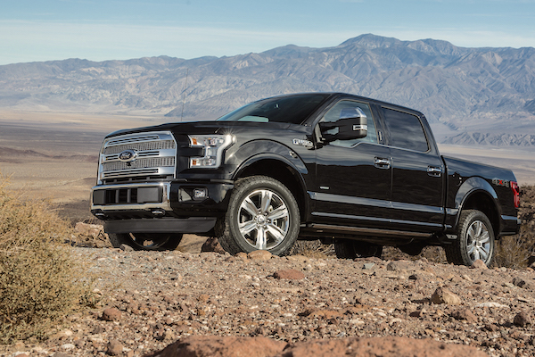 Ford F-150 USA March 2016. Picture courtesy caranddriver.com