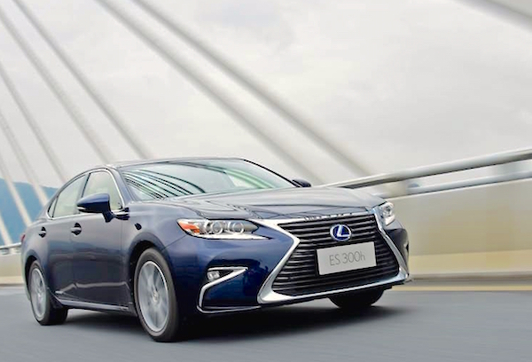 Lexus ES China 2015. Picture courtesy mydrivers.com