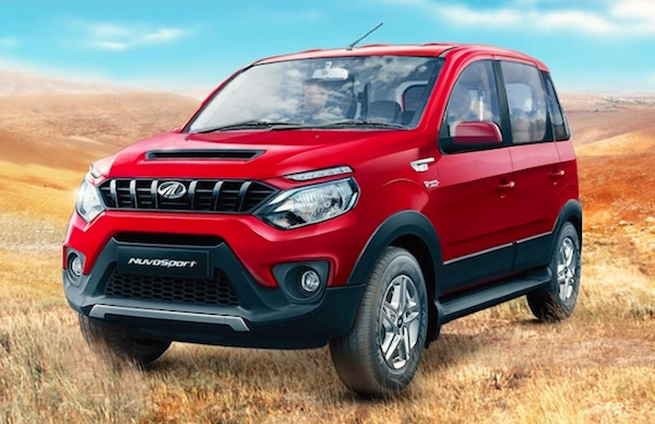 Mahindra NuvoSport India March 2016