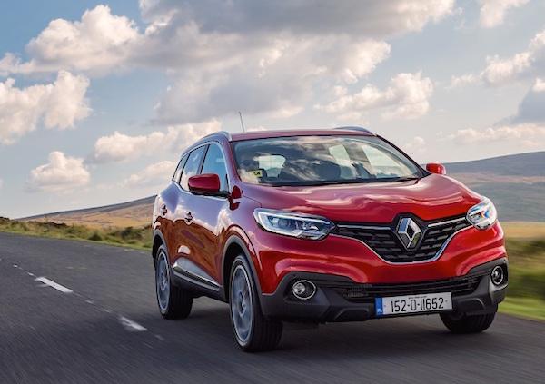 Renault Kadjar France March 2016. Picture courtesy cbg.ie