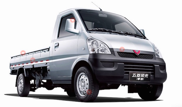 Wuling Mini Truck China March 2016