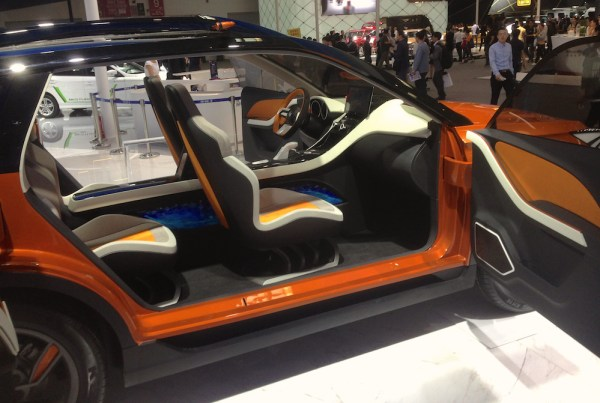 FAW X4 Concept interior