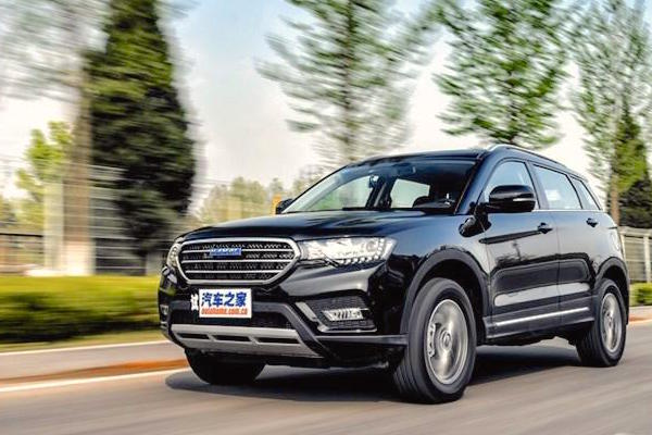 Haval H6 Coupe China October 2016. Picture courtesy autohome.com.cn