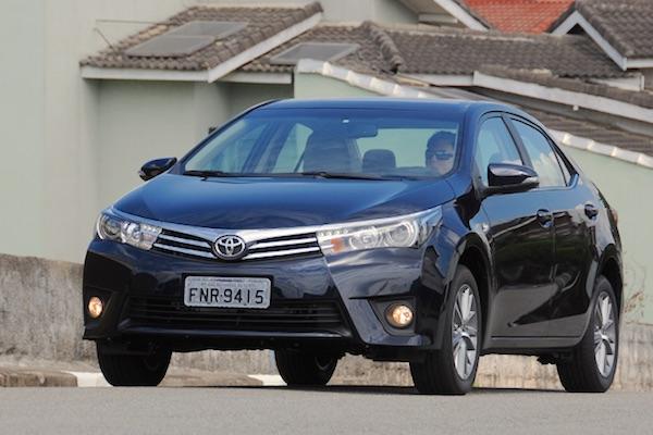Toyota Corolla Brazil June 2016. Picture courtesy uol.com.br
