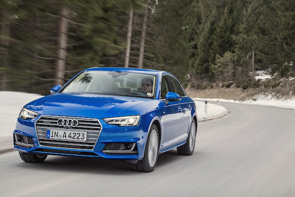 Audi A4 Europe August 2016