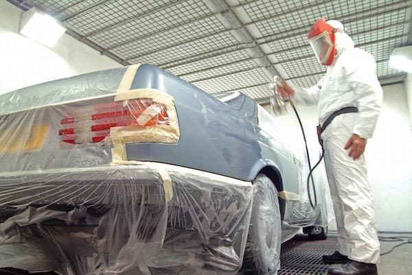 Automobile paint